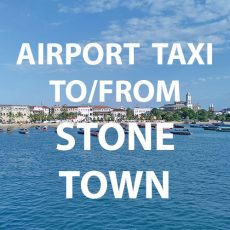 Stone Town water front